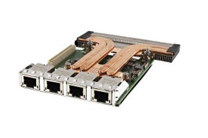 Dell Intel X550-T4 10Gb RJ-45 Quad Port Rack Network Daughter Card - 64PJ8 - NOB
