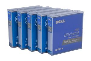 Dell LTO-4 Data Cartridge - 5 Pack