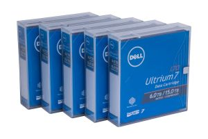 Dell LTO-7 Data Cartridge - 5 Pack