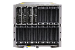 Dell PowerEdge M1000e - 4 x M620, 2xE5-2630L, 16GB, PERC H310, Ent