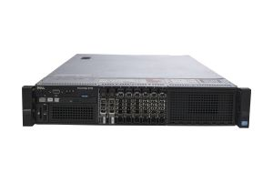 "Dell PowerEdge R720 1x8 2.5"", 2 x E5-2640 2.5GHz Six-Core, 64GB, 2 x 600GB 10k SAS, PERC H710, iDRAC7 Ent"