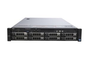 "Dell PowerEdge R720 1x8 3.5"", 2 x E5-2640 2.5GHz Six-Core, 32GB, 8 x 600GB SAS, PERC H710, iDRAC7 Exp"