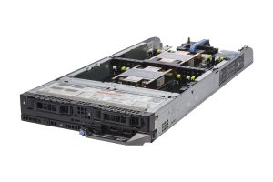 "Dell PowerEdge FC630 1x2 2.5"" SAS, 2 x E5-2650v4 2.2GHz Twelve-Core, 256GB, PERC H730P, iDRAC8 Ent"