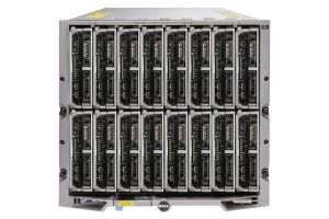 Dell PowerEdge M1000e - 16 x M620, 2xE5-2670, 32GB, 2 x 240GB SSD, PERC S110, iDRAC7 Ent