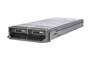 Dell PowerEdge M620 1x2, 2 x E5-2650v2 2.6GHz Eight-Core, 64GB, 2 x 200GB SSD SATA, PERC S110, iDRAC7 Ent