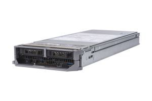 "Dell PowerEdge M640 1x2 2.5"" SATA, 2 x Silver 4110 2.1GHz Eight-Core, 64GB, PERC S140, iDRAC9 Ent"