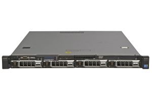 Dell PowerEdge R410 1x4, 2 x E5645 2.4GHz Six-Core, 32GB, 4 x 1TB SAS 7.2k, H200, iDRAC6 Ent