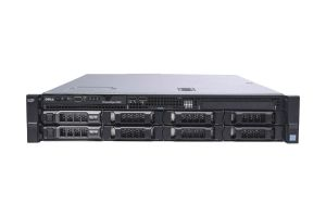 "Dell PowerEdge R530 1x8 3.5"", 2 x E5-2640v3 2.6GHz Eight-Core, 16GB, 2 x 8TB SAS, PERC H730, iDRAC8 Ent"