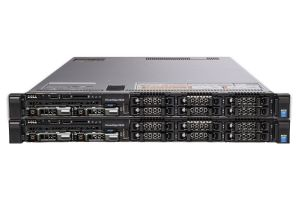 "Dell PowerEdge R630 1x8 2.5"", 2 x E5-2670v3 2.3GHz Twelve-Core, 32GB, 2 x 200GB SATA, PERC S130, iDRAC8 Ent - 2 Pack"