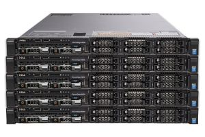 "Dell PowerEdge R630 1x8 2.5"", 2 x E5-2670v3 2.3GHz Twelve-Core, 32GB, 2 x 200GB SATA, PERC S130, iDRAC8 Ent - 5 Pack"