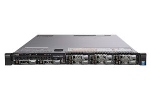 "Dell PowerEdge R630 1x8 2.5"", 2 x E5-2620v3 2.4GHz Six-Core, 32GB, 8 x 600GB SAS 15k, PERC H730, iDRAC8 Ent"