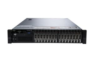 "Dell PowerEdge R720 1x16 2.5"", 2 x E5-2640 2.5GHz Six-Core, 64GB, 16 x 1.2TB 10k SAS, PERC H710, iDRAC7 Ent"