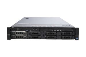 "Dell PowerEdge R720 1x8 3.5"", 2 x E5-2640 2.5GHz Six-Core, 32GB, 2 x 600GB SAS, PERC H710, iDRAC7 Exp"