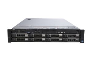 "Dell PowerEdge R720 1x8 3.5"", 2 x E5-2690 2.9GHz Eight-Core, 32GB, 2 x 6TB SATA, PERC H710, iDRAC7 Ent"