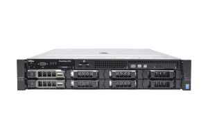 "Dell PowerEdge R730 1x8 3.5"", 2 x E5-2637v3 3.5GHz Quad-Core, 64GB, 2 x 600GB SAS 15k, PERC H730, iDRAC8 Ent"