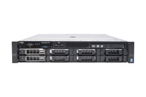 "Dell PowerEdge R730 1x8 3.5"", 2 x E5-2650v3 2.3GHz Ten-Core, 128GB, 2 x 1TB SAS 7.2k, PERC H330, iDRAC8 Ent"