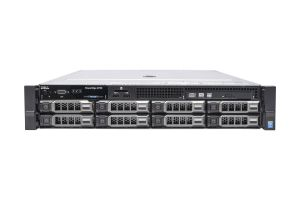 "Dell PowerEdge R730 1x8 3.5"", 2 x E5-2637v3 3.5GHz Quad-Core, 64GB, 8 x 8TB SAS 7.2k, PERC H730, iDRAC8 Ent"