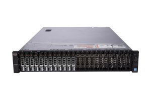 "Dell PowerEdge R730xd 1x24 2.5"", 2 x E5-2699v3 2.3GHz Eighteen-Core, 256GB, 12 x 1.8TB SAS, PERC H730, iDRAC8 Ent"