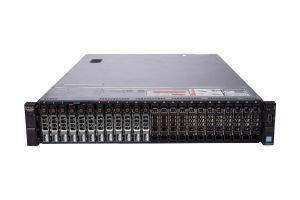 "Dell PowerEdge R730xd 1x24 2.5"", 2 x E5-2670v3 2.3GHz Twelve-Core, 32GB, 12 x 2.4TB SAS, PERC H730, iDRAC8 Ent"