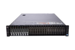 "Dell PowerEdge R730xd 1x24 2.5"", 2 x E5-2699v3 2.3GHz Eighteen-Core, 32GB, 8 x 1.92TB SSD SAS, PERC H730, iDRAC8 Ent"