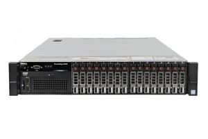 "Dell PowerEdge R830 1x16 2.5"" SAS, 4 x E5-4620v4 2.1GHz Ten-Core, 128GB, 16 x 1.2TB SAS 10k, PERC H730P, iDRAC8 Ent"