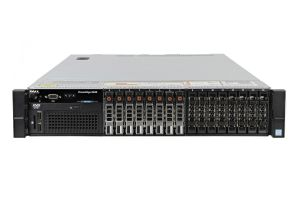 "Dell PowerEdge R830 1x16 2.5"" SAS, 4 x E5-4620v4 2.1GHz Ten-Core, 128GB, 8 x 1.2TB SAS 10k, PERC H730P, iDRAC8 Ent"