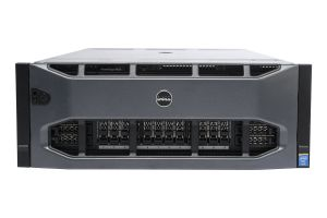 "Dell PowerEdge R920 1x24 2.5"", 4 x E7-4830v2 2.2GHz 10-Core, 64GB, 2 x 600GB 10k SAS, PERC H730P, iDRAC7 Enterprise"