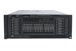 "Dell PowerEdge R930 2x12 2.5"" SAS, 4 x E7-8890v3 2.5GHz Eighteen-Core, 512GB, 2 x PERC H730P, iDRAC8 Ent"
