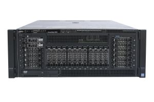 "Dell PowerEdge R930 1x24 2.5"" SAS, 4 x E7-8890v3 2.5GHz Eighteen-Core, 384GB, 2 x 300GB SAS 15k, PERC H730P, iDRAC8 Ent"