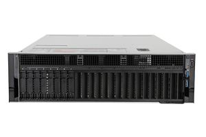 "Dell PowerEdge R940 1x8 2.5"", 4 x Gold 6146 3.2GHz Twelve-Core, 512GB, H740P, iDRAC9 Ent"