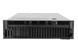 "Dell PowerEdge R940 1x8 2.5"", 4 x Gold 6146 3.2GHz Twelve-Core, 512GB, 2 x 1.8TB 10k SAS, H740P, iDRAC9 Ent"
