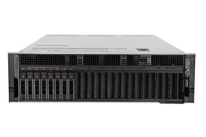 "Dell PowerEdge R940 1x8 2.5"", 4 x Gold 6146 3.2GHz Twelve-Core, 512GB, 8 x 2TB 7.2k SAS, H740P, iDRAC9 Ent"