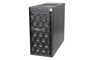 Dell PowerEdge T140 1x4, E-2124 3.3GHz Quad-Core, 8GB, 2 x 600GB SAS 15k, PERC H330, iDRAC9 Basic