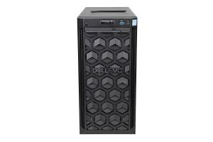 Dell PowerEdge T140 1x4, E-2124 3.3GHz Quad-Core, 8GB, 1 x 1TB SATA 7.2k, PERC H330, iDRAC9 Basic