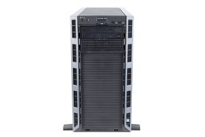"Dell PowerEdge T430 1x4 3.5"", 2 x E5-2680v3 2.5GHz Twelve-Core, 64GB, 2 x 10TB SAS 7.2k, PERC H730, iDRAC8 Ent"