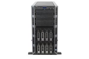 "Dell PowerEdge T430 1x8 3.5"", 2 x E5-2650v3 2.3GHz Ten-Core, 128GB, 8 x 8TB SAS 7.2k, PERC H730, iDRAC8 Ent"