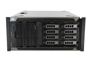 "Dell PowerEdge T440-R 1x8 3.5"", 2 x Bronze 3104 1.7GHz Six-Core, 32GB, 8 x 8TB SAS, H730P"