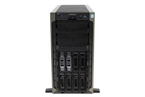 Dell PowerEdge T440 1x8, 2 x Silver 4114 2.2GHz Ten-Core, 32GB, 2 x 10TB 7.2k SAS, PERC H730P