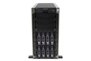 Dell PowerEdge T440 1x8, 2 x Gold 5115 2.4GHz Ten-Core, 64GB, 8 x 12TB 7.2k SAS, PERC H730P