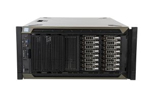 "Dell PowerEdge T640-R 1x16 2.5"", 2 x Bronze 3106 1.7GHz Eight-Core, 32GB, 16 x 1.2TB SAS 10k, PERC H730P"