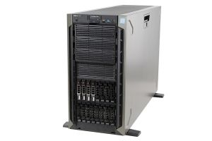 Dell PowerEdge T640 1x16, 2 x Gold 5115 2.4GHz Ten-Core, 96GB, 4 x 1.92TB SSD SAS, PERC H730P