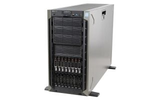 Dell PowerEdge T640 1x16, 2 x Silver 4114 2.2GHz Ten-Core, 64GB, 8 x 600GB 15k SAS, PERC H730P