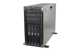 Dell PowerEdge T640 1x8, 2 x Gold 6132 2.6GHz Fourteen-Core, 128GB, 4 x 10TB 7.2k SAS, PERC H730P