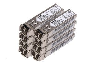 Dell Finisar 1Gb FC SFP Short Range Transceiver - GF76J - *8 Pack* - Ref