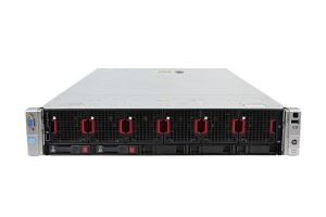 HP Proliant DL560 Gen8 1x5, 4 x E5-4610 2.4GHz Six-Core, 128GB, 2 x 1TB, iLO4