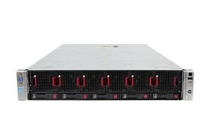 HP Proliant DL560 Gen8 1x5, 4 x E5-4650v2 2.4GHz Ten-Core, 256GB, 5 x 300GB, iLO4