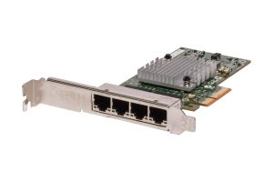 HP NC365T 1Gb/s Quad Port Full Height Network Card - 593743-001