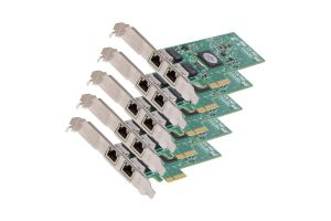 HP NC382T 1Gb RJ-45 Dual Port Full Height Network Card - 458491-001 *5 Pack*