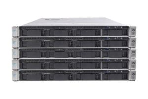 "HP Proliant DL360 Gen9 1x4 3.5"", 2 x E5-2670v3 2.3GHz Twelve-Core, 32GB, Smart Array P440ar, HP iLO 4 Standard - 5 Pack"