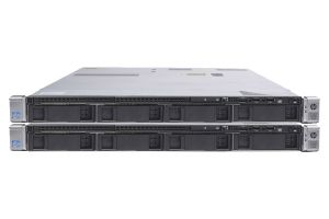 "HP Proliant DL360p Gen8 1x4 3.5"", 2 x E5-2660 2.2GHz Eight-Core, 16GB, Smart Array P420, HP iLO - 2 Pack"